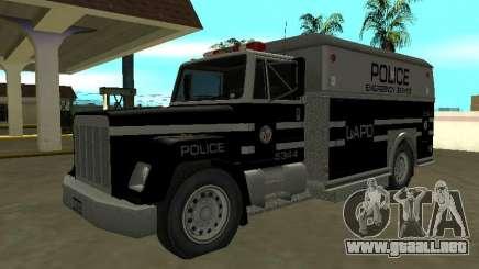 ENFORCER HQ de GTA 3 Departamento de Policía de Los Angeles para GTA San Andreas