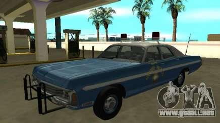 Dodge Polara 1972 Nevada Patrulla de Carreteras de Nevada para GTA San Andreas
