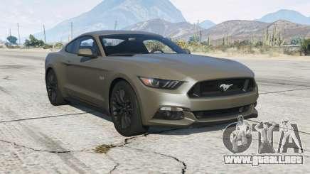 Ford Mustang GT 201ⴝ para GTA 5