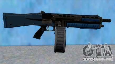 GTA V Vom Feuer Assault Shotgun LSPD V14 para GTA San Andreas