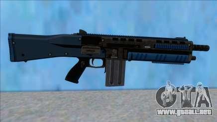 GTA V Vom Feuer Assault Shotgun LSPD V15 para GTA San Andreas