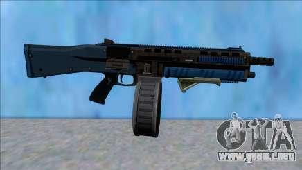 GTA V Vom Feuer Assault Shotgun LSPD V9 para GTA San Andreas