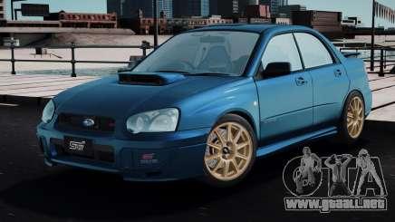 Subaru Impreza WRX STi Spec-C 2003 para GTA San Andreas