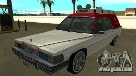 Cadillac Superior 1977 (Emperador) Ambulancia para GTA San Andreas
