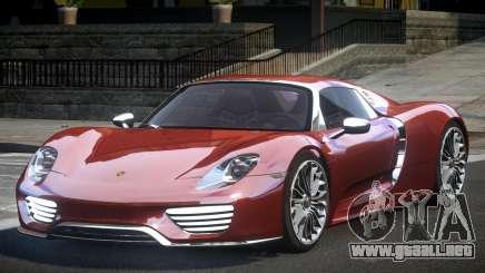 Porsche 918 Spyder PSI para GTA 4