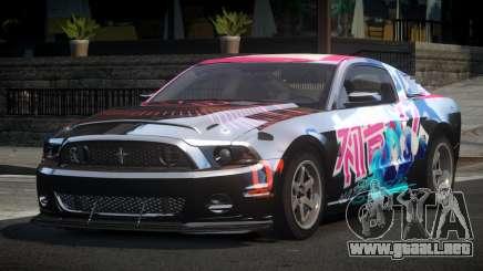 Shelby GT500 BS Racing L6 para GTA 4