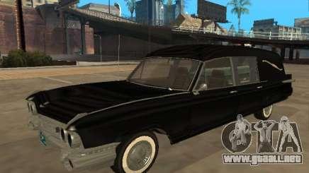 1959 Cadillac Miller-Meteor hearse para GTA San Andreas