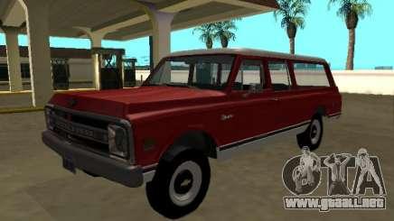 1969 Chevrolet C-10 Suburban para GTA San Andreas