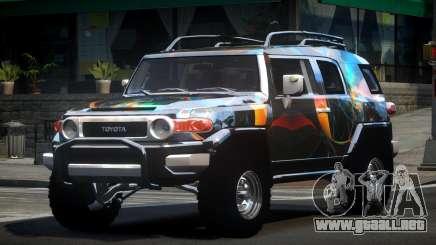Toyota FJ Cruiser OR L7 para GTA 4