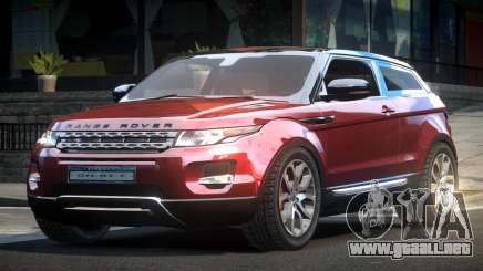 Land Rover Evoque TR para GTA 4