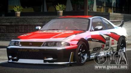 Nissan Skyline R33 BS L3 para GTA 4
