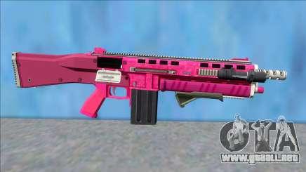 GTA V Vom Feuer Assault Shotgun Pink V6 para GTA San Andreas