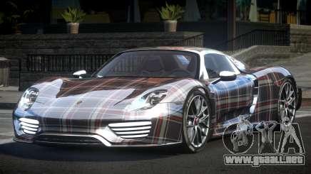 Porsche 918 Spyder SR L4 para GTA 4