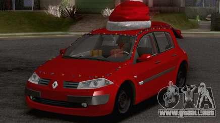 Renault Megane Christmas Edition para GTA San Andreas