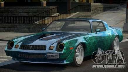 Chevrolet Camaro 70S L8 para GTA 4