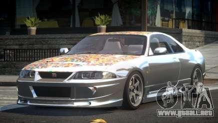 1997 Nissan Skyline R33 L2 para GTA 4