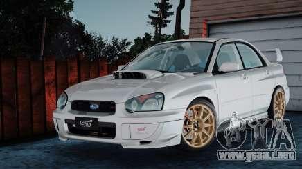 Subaru Impreza WRX STi 2003 para GTA San Andreas