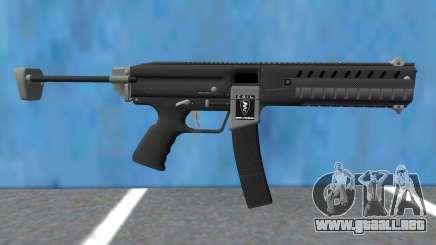 GTA V Combat PDW Extended para GTA San Andreas