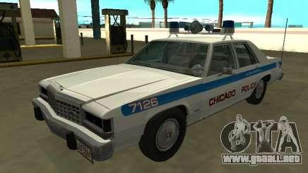 Ford LTD Crown Victoria 1987 Departamento de Policía de Chicago para GTA San Andreas
