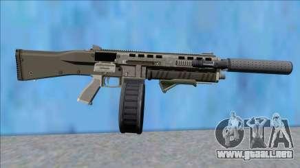 GTA V Vom Feuer Assault Shotgun Platinum V13 para GTA San Andreas