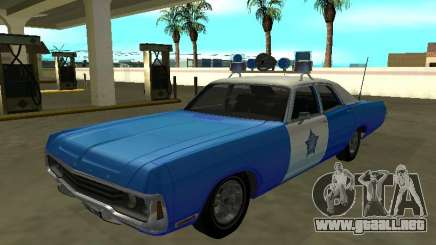 Dodge Polara 1972 Departamento de Policía de Chicago para GTA San Andreas