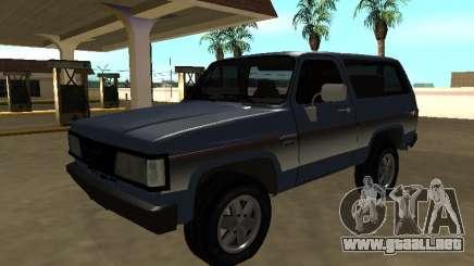 Chevrolet Bonanza 1994 para GTA San Andreas