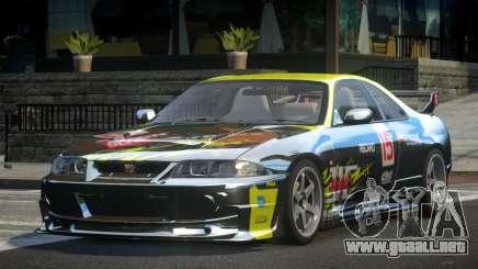 1997 Nissan Skyline R33 L7 para GTA 4