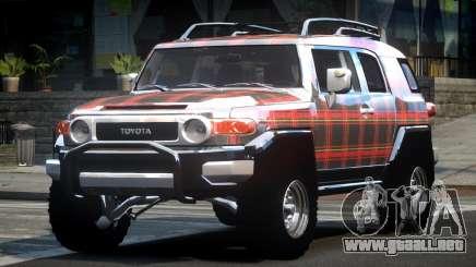 Toyota FJ Cruiser OR L4 para GTA 4