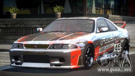 Nissan Skyline R33 BS L9 para GTA 4