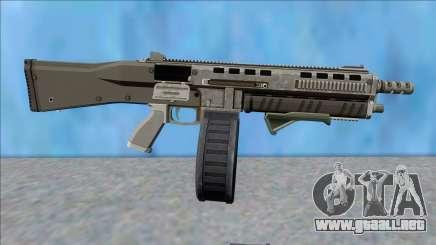 GTA V Vom Feuer Assault Shotgun Platinum V9 para GTA San Andreas