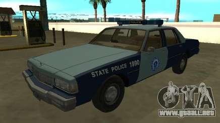 Chevrolet Caprice 1987 Policía de Massachusetts S para GTA San Andreas