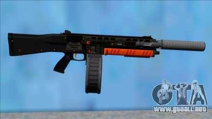 GTA V Vom Feuer Assault Shotgun Orange V1 para GTA San Andreas