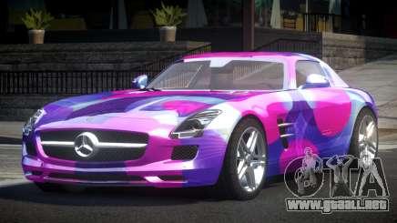 Mercedes-Benz SLS BS A-Style PJ7 para GTA 4