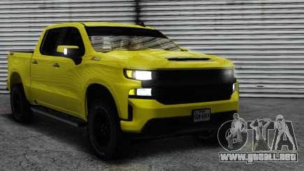 2020 Chevrolet Silverado Trailboss Z71 ImVehFT para GTA San Andreas