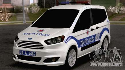 Ford Tourneo Courier Traffic Police para GTA San Andreas