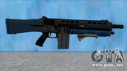 GTA V Vom Feuer Assault Shotgun LSPD V10 para GTA San Andreas
