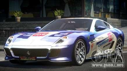 Ferrari 599 GS Racing L1 para GTA 4