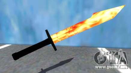 Taskmasters Sword V2 from Spider-Man PS4 para GTA San Andreas