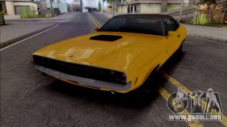 GTA V: Bravado Gauntlet Classic para GTA San Andreas