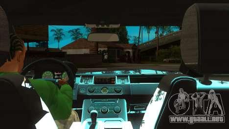 Sidhu Moosewala Range Rover Mod para GTA San Andreas