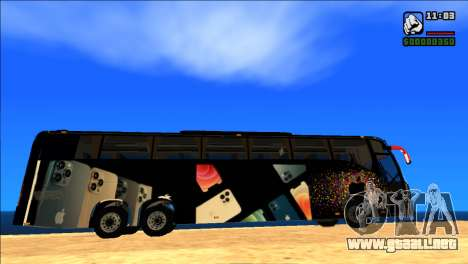 IPHONE 12 VOLVO BUS para GTA San Andreas