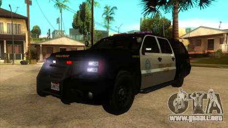 MGCRP FBI RANCHER MOD para GTA San Andreas