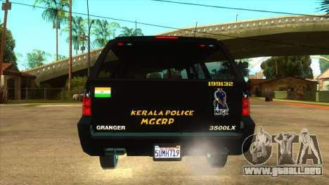 MGCRP Policía Coche Mod para GTA San Andreas