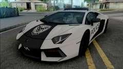Lamborghini Aventador LP700-4 Police Rio para GTA San Andreas