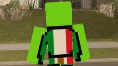 Mexican Dream Minecraft Skin para GTA San Andreas