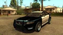 Interceptor vago de la policía de MGRP para GTA San Andreas