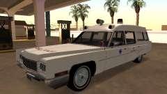 Cadillac Fleetwood 1970 Ambulancia para GTA San Andreas