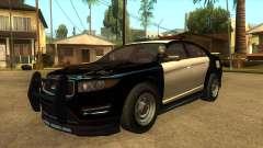 MGRP Police Vapid Interceptor v2 para GTA San Andreas