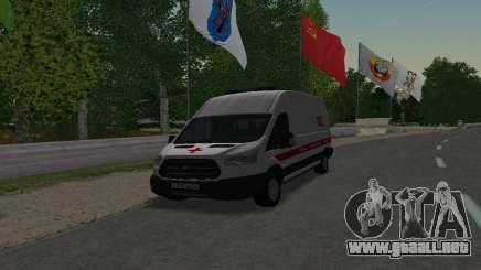 Ford Transit Ambulance Medical Aid para GTA San Andreas