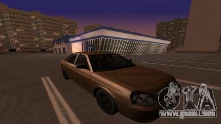Lada Priora 2170 78RUS para GTA San Andreas